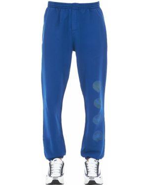Niebieskie joggery bawełniane Klsh - Kids Love Stain Hands