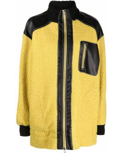 Длинное пальто - желтое Staud
