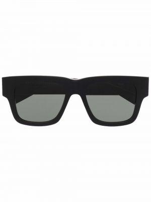 Солнцезащитные очки оверсайз - черные Retrosuperfuture