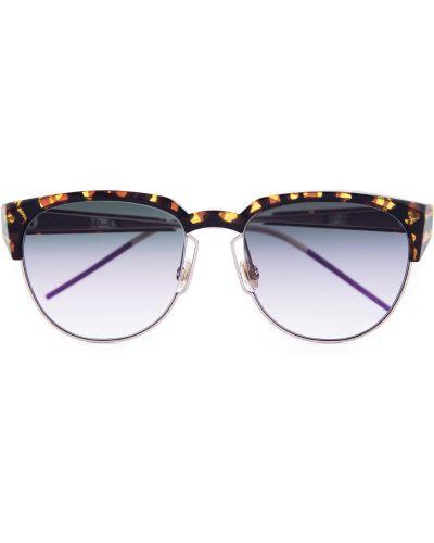 Солнцезащитные очки металлические стеклянные Dior (sunglasses) Women