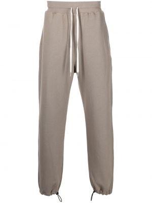 Spodnie z wysokim stanem - brązowe John Elliott