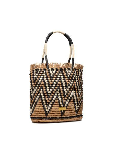 Brązowa klasyczna torebka Gioseppo