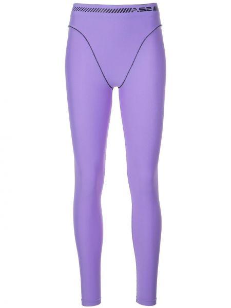 Фиолетовые леггинсы Adam Selman Sport