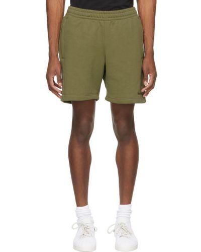 Шорты карго с карманами хаки с вышивкой Adidas Originals X Pharrell Williams
