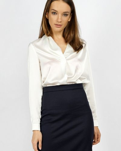 Блузка белая осенняя Burlo