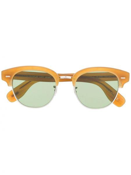 Серые солнцезащитные очки квадратные Oliver Peoples