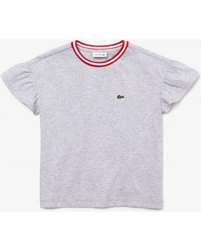 Хлопковая футболка Lacoste