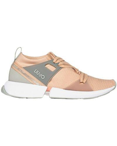 Różowe sneakersy Liu Jo