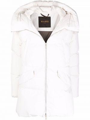 Белая куртка с карманами Moorer