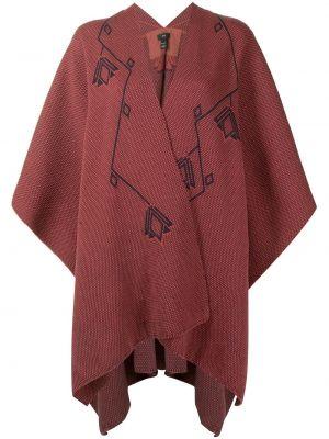 Z merynosa z rękawami tunika z dekoltem w szpic Voz