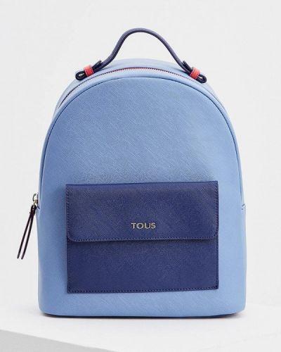 Голубой рюкзак Tous