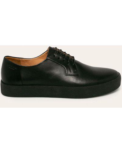 Туфли на шнуровке текстильные черные Vagabond