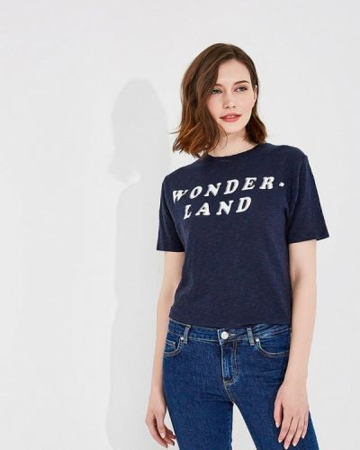 Синяя футболка Zoe Karssen
