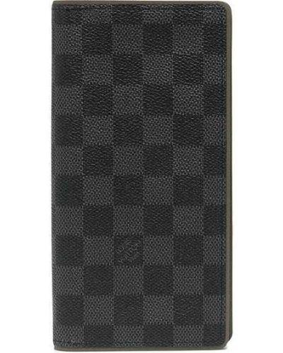 Czarny portfel skórzany Louis Vuitton