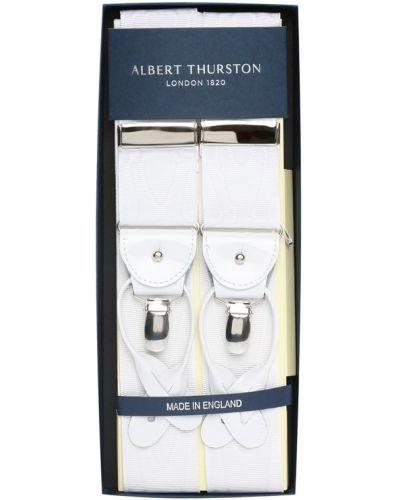 Белые подтяжки Albert Thurston