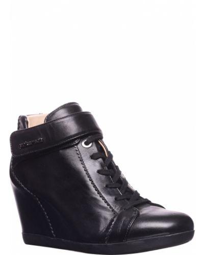Ботинки на платформе кожаные осенние Pakerson