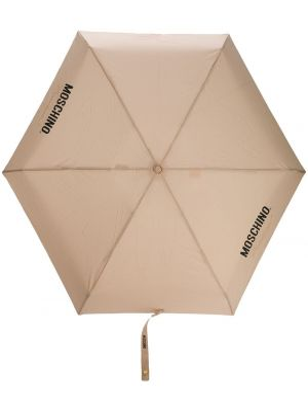 Зонт с принтом с логотипом Moschino