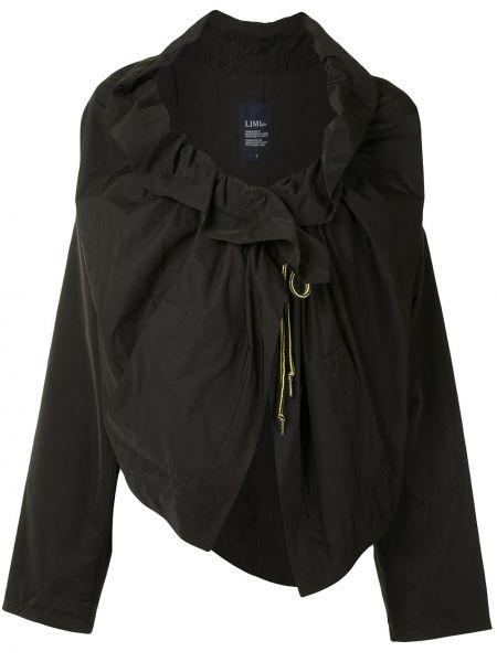 Свободная черная куртка оверсайз Yohji Yamamoto