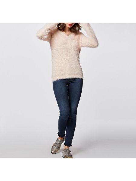Пуловер с V-образным вырезом акриловый Morgan
