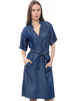 Платье - голубое Cerruti 18crr81