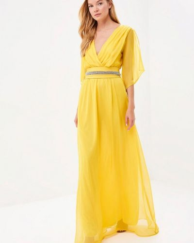 Платье весеннее желтый Bruebeck