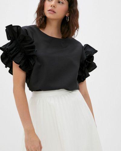 Черная зимняя блузка M,a,k You Are Beautiful