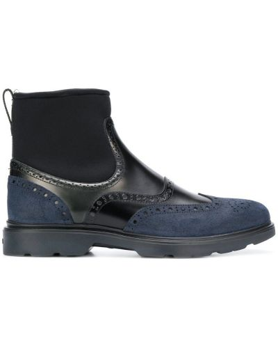 Ботильоны кожаный для обуви Hogan