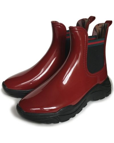 Ботинки сетчатые - красные Realpaks