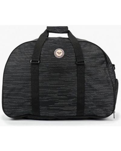Спортивная сумка черная Roxy