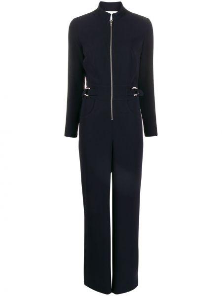 Темно-синий комбинезон с поясом свободного кроя Carolina Ritzler