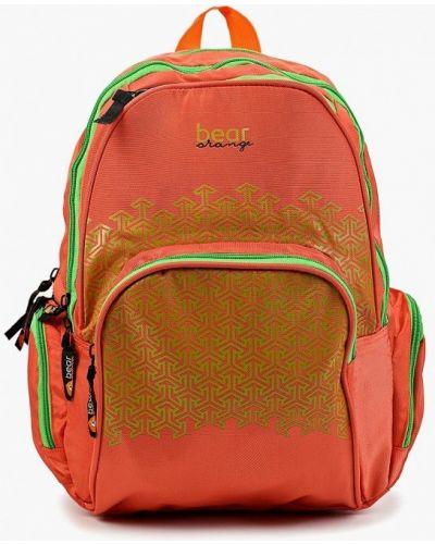 Оранжевый рюкзак Grizzly