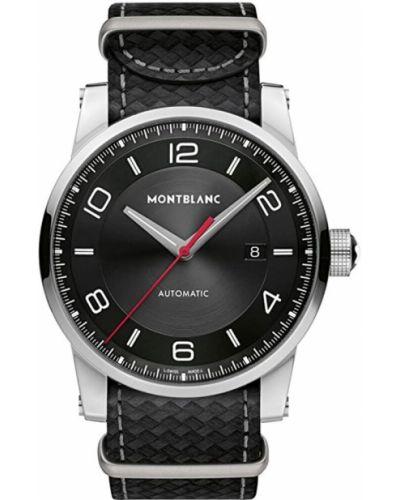 Czarny zegarek Montblanc