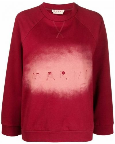 Czerwony sweter Marni