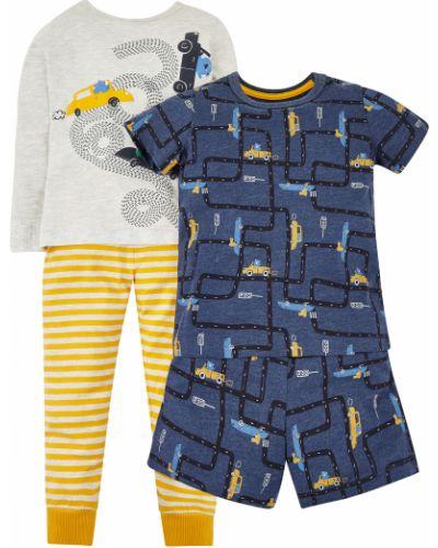 Пижама синяя желтый Mothercare