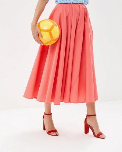 Юбка широкая розовая Ofera