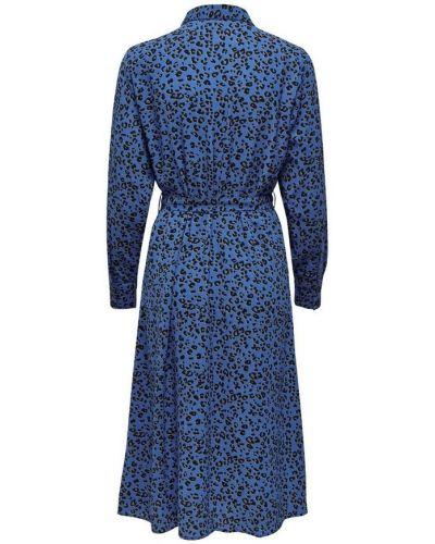 Niebieska sukienka Jacqueline De Yong
