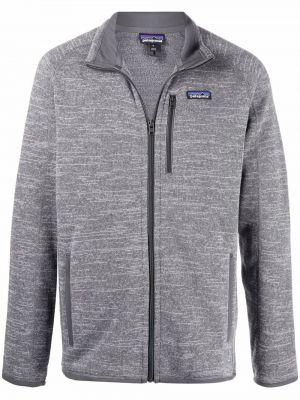 Флисовая куртка - серая Patagonia