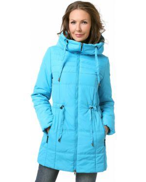 Куртка с капюшоном утепленная длинная Dizzyway