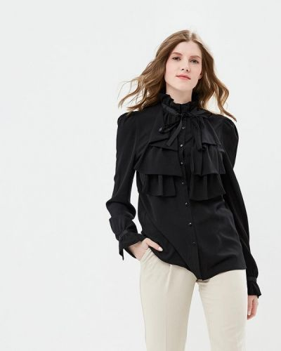 Черная блузка Brigitte Bardot