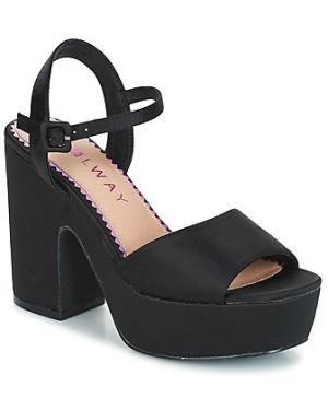 Czarne sandały Coolway