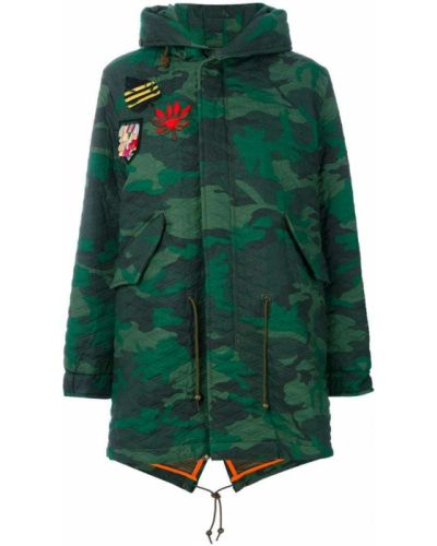 Пальто милитари из вискозы Mr & Mrs Italy