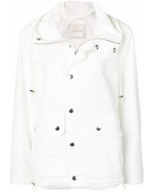 Белая длинное пальто Mackintosh