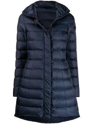Длинное пальто укороченное био пух Peuterey