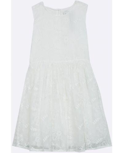 Платье однотонное хлопковое Name It