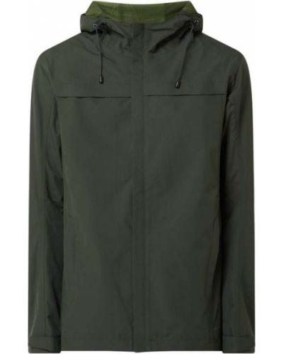 Zielona kurtka z kapturem na rzepy Icepeak