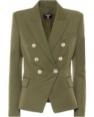 Пиджак шерстяной Balmain