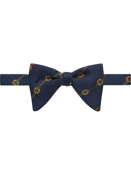 Krawat włoski jedwab Gucci