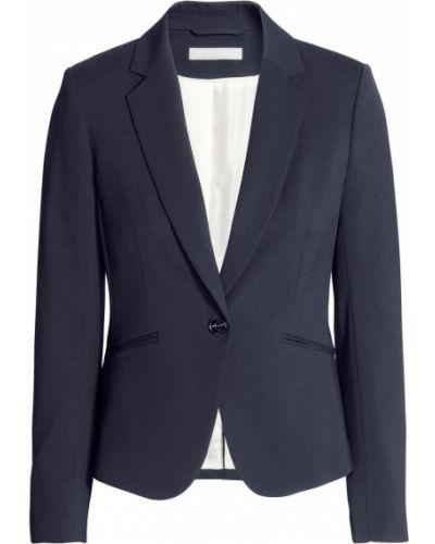 Приталенный пиджак - синий H&m