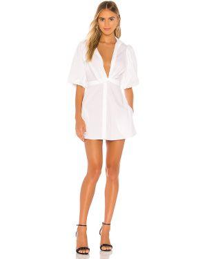 Biała sukienka bawełniana Petersyn
