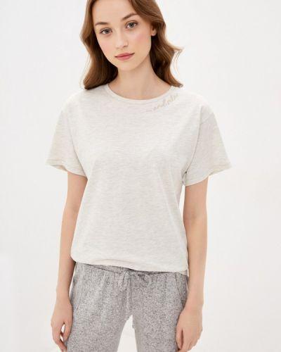 Домашняя серая футболка Marks & Spencer